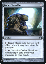 Codex Shredder image