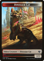 Dinosaur Cat Token image