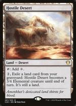 Hostile Desert image