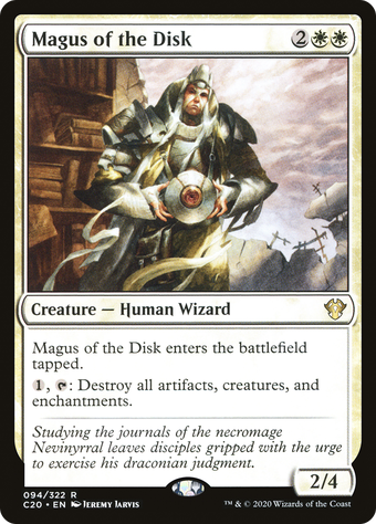 Magus of the Disk image