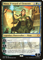 Nissa, Steward of Elements image