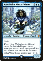 Naru Meha, Master Wizard image