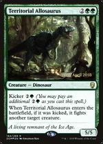 Territorial Allosaurus image