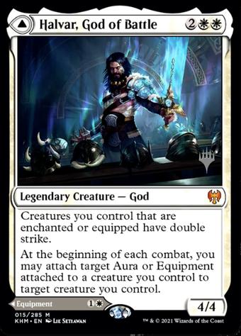 Halvar, God of Battle // Sword of the Realms image