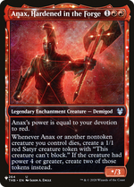 Anax, Hardened in the Forge image