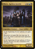 Oloro, Ageless Ascetic image