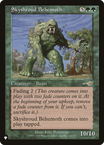 Skyshroud Behemoth image