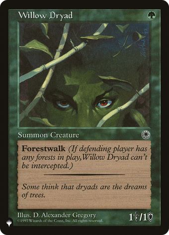 Willow Dryad image
