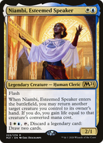 Niambi, Esteemed Speaker image