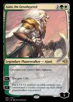 Ajani, the Greathearted image