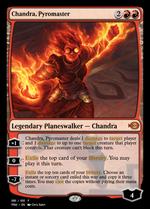 Chandra, Pyromaster image
