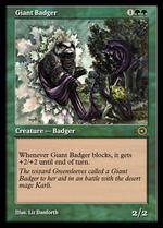Giant Badger image