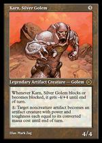 Karn, Silver Golem image