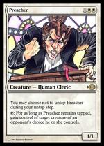 Preacher image