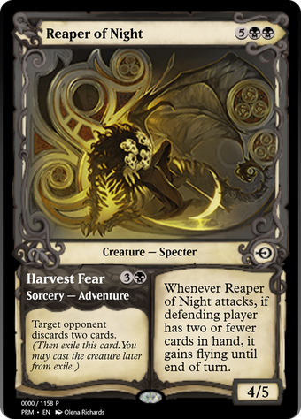 Reaper of Night // Harvest Fear image