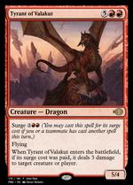 Tyrant of Valakut image