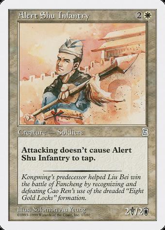 Alert Shu Infantry image