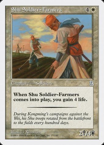 Shu Soldier-Farmers image