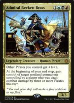 Admiral Beckett Brass image