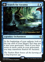 Search for Azcanta // Azcanta, the Sunken Ruin image
