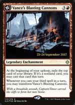 Vance's Blasting Cannons // Spitfire Bastion image