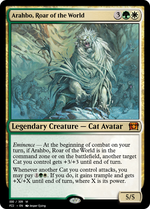 Arahbo, Roar of the World image