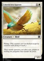 Colorful Feiyi Sparrow image