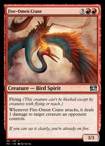 Fire-Omen Crane image