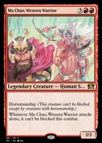 Ma Chao, Western Warrior image