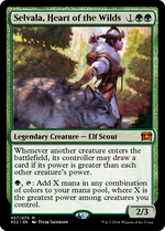 Selvala, Heart of the Wilds image