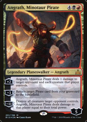 Angrath, Minotaur Pirate image
