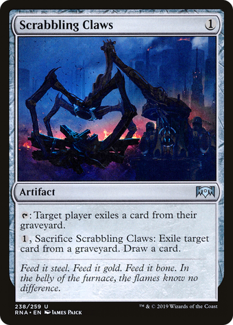 Scrabbling Claws image