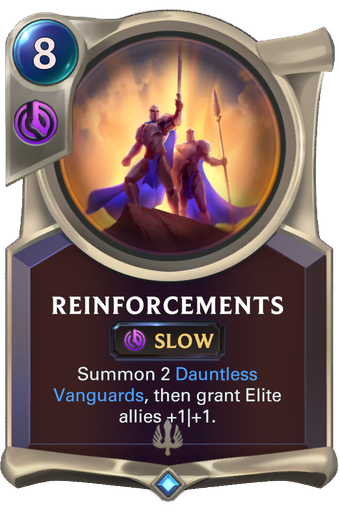 Reinforcements image