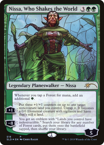 Nissa, Who Shakes the World image