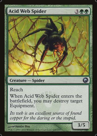Acid Web Spider image