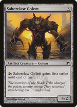 Saberclaw Golem image