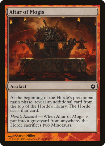 Altar of Mogis image