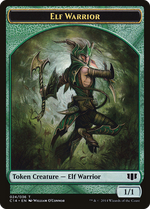 Elf Warrior Token image