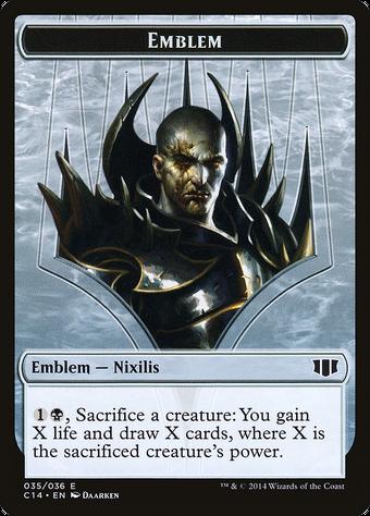 Ob Nixilis of the Black Oath Emblem image