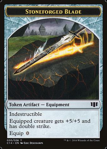 Stoneforged Blade Token image