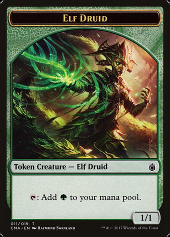 Elf Druid Token image