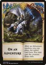 On an Adventure Card image