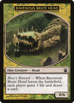 Ravenous Brute Head Token image