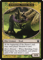 Shrieking Titan Head Token image