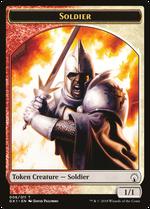 Soldier // Goblin Token image