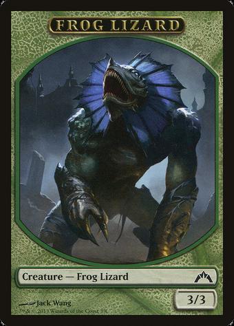 Frog Lizard Token image