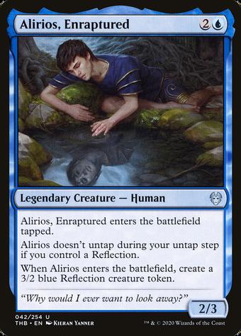 Alirios, Enraptured image