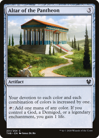 Altar of the Pantheon image
