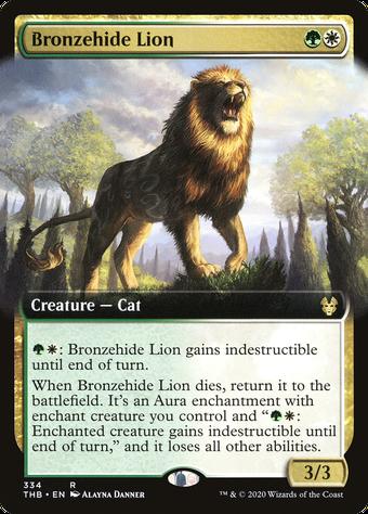 Bronzehide Lion image
