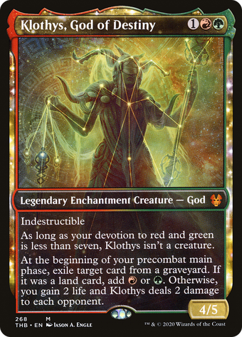 Klothys, God of Destiny image